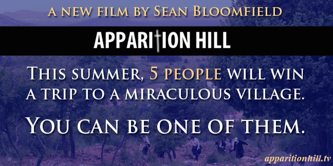 New Medjugorje film, Apparition Hill